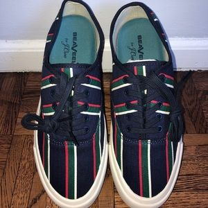 NWT SeaVees for J.Crew Legend Sneakers in Stripe